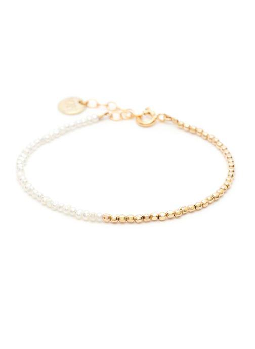 Sonstiges YAY Paris bracelet queen bi-colore or jaune blanc gold/bronze detaillierte ansicht/modell