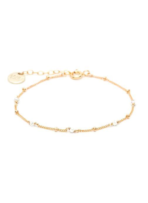 Sonstiges YAY Paris bracelet satellite pierres or jaune blanc gold/bronze detaillierte ansicht/modell