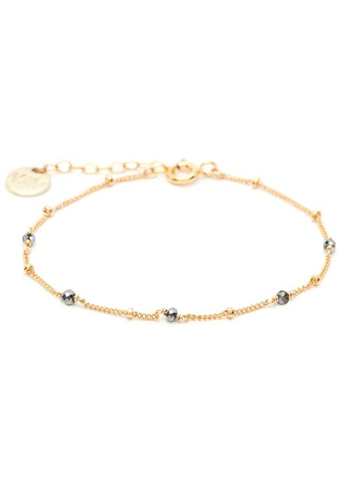 Sonstiges YAY Paris bracelet satellite pierres or jaune gris gold/bronze detaillierte ansicht/modell