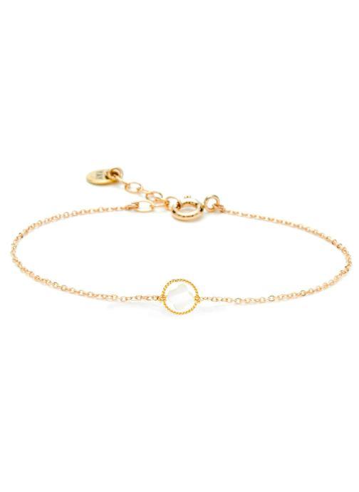 Divers Accessoires bracelet swan étoile or jaune blanc