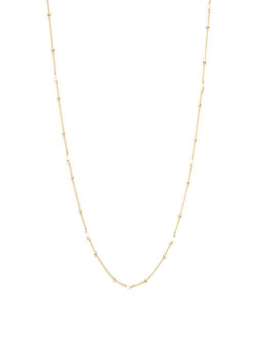 Sonstiges YAY Paris collier satellite pierres or jaune blanc gold/bronze detaillierte ansicht/modell