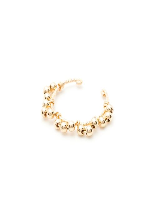 Sonstiges YAY Paris Faux piercing dentelle Simple or jaune sans pierre gold/bronze detaillierte ansicht/modell