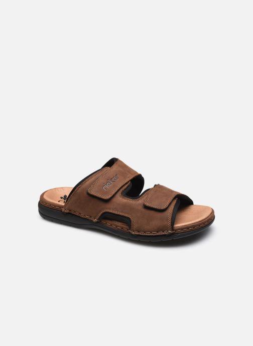 Sandales et nu-pieds Rieker Jean 2 Marron vue détail/paire