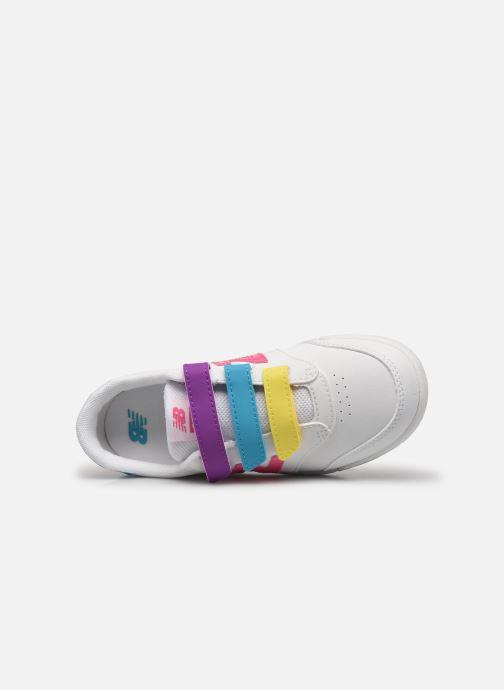 Sneaker New Balance PVCT60 weiß ansicht von links