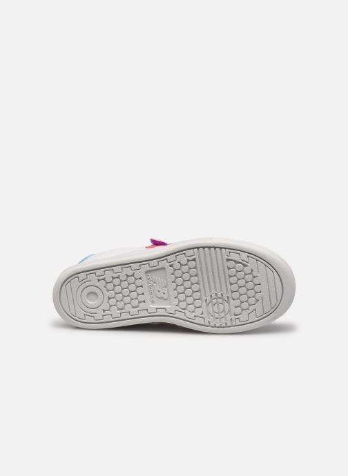 Sneaker New Balance PVCT60 weiß ansicht von oben