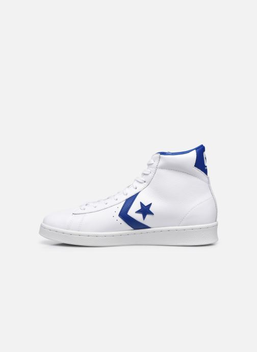Sneakers Converse Pro Leather Bianco immagine frontale