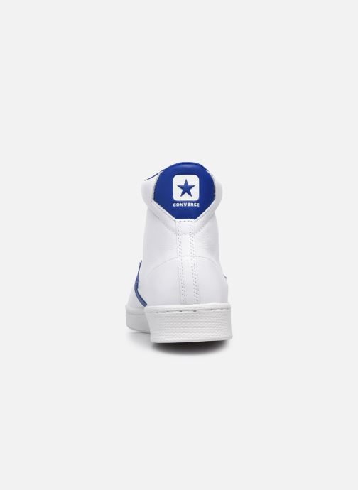 Sneakers Converse Pro Leather Bianco immagine destra