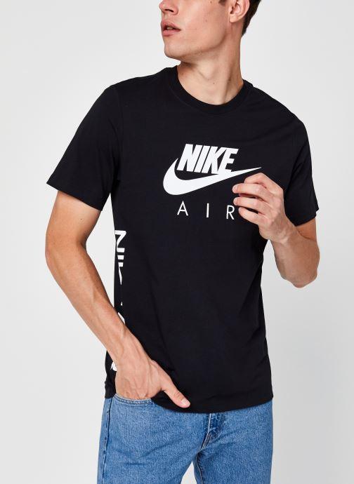 Vêtements Nike M Nsw Tee Nike Air Hbr 2 Noir vue détail/paire