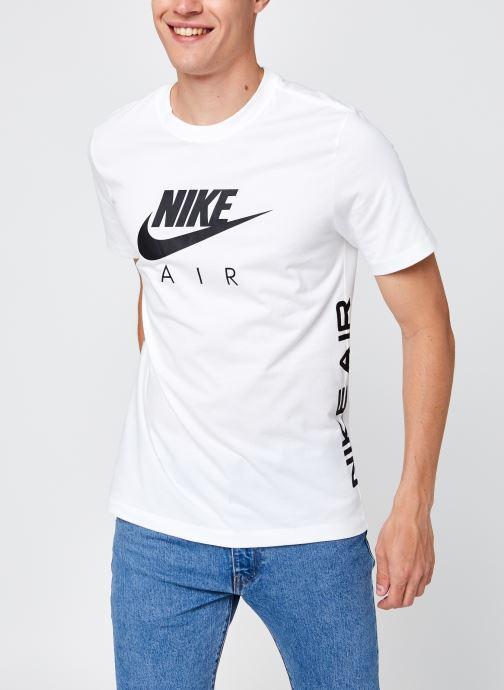 Vêtements Nike M Nsw Tee Nike Air Hbr 2 Blanc vue détail/paire