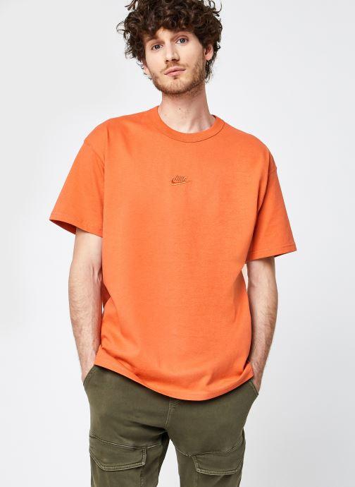 Kleding Nike M Nsw Tee Premium Essential Oranje detail