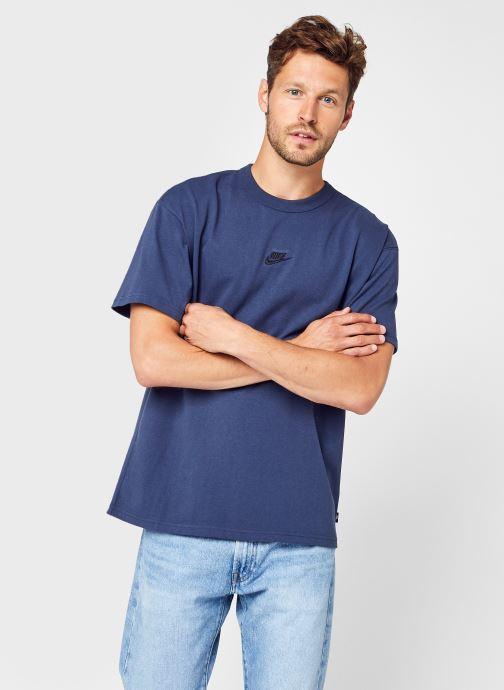 Ropa Nike M Nsw Tee Premium Essential Azul vista de detalle / par