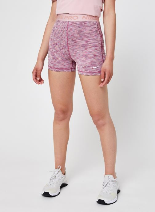 Vêtements Nike W Np 3In Short Sdye Ps Pp2 Rose vue détail/paire