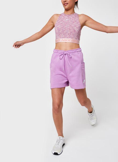 Vêtements Nike W Np Tank Sdye Ps Pp2 Rose vue bas / vue portée sac