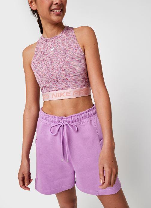 Vêtements Nike W Np Tank Sdye Ps Pp2 Rose vue droite