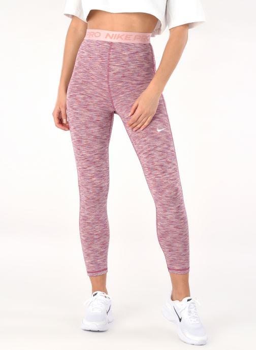 Vêtements Nike W Np Tight Crop Sdye Ps Pp2 Rose vue détail/paire