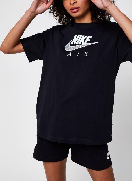 Vêtements Nike W Nsw Air Bf Top Noir vue détail/paire