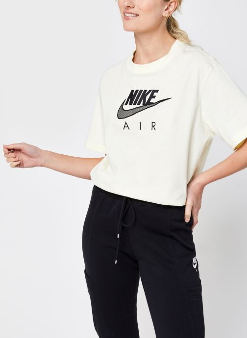 Kleding Nike W Nsw Air Bf Top Beige detail