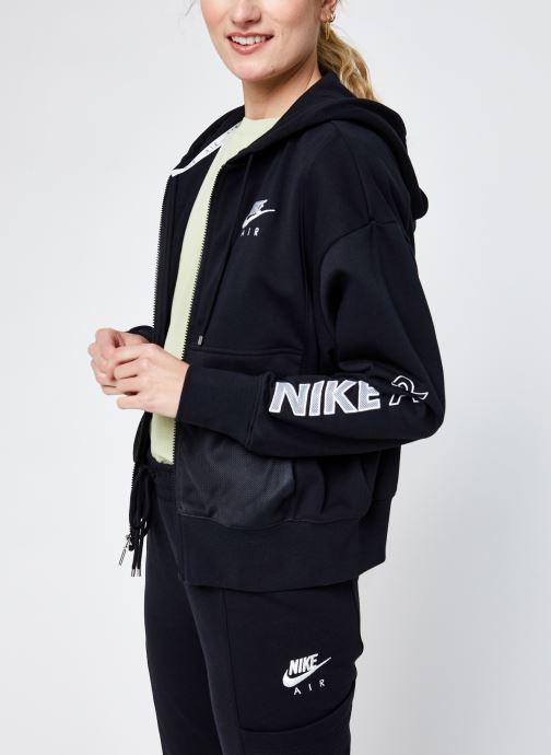 Abbigliamento Nike W Nsw Air Fz Top Flc Nero vedi dettaglio/paio