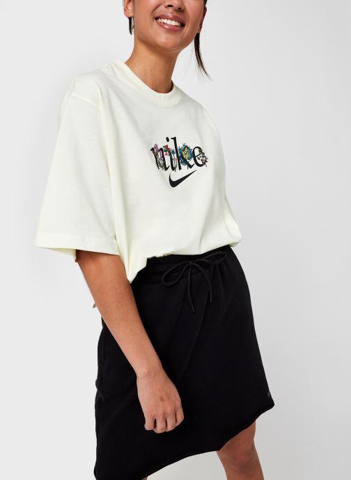 Vêtements Nike W Nsw Tee Boxy Nature Beige vue détail/paire
