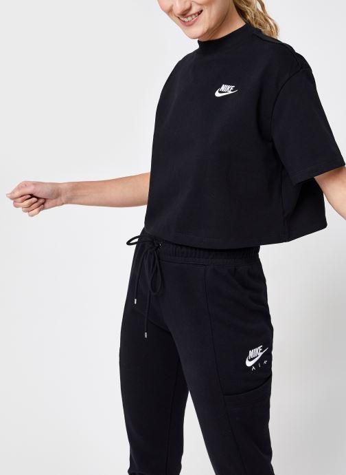 Abbigliamento Nike W Nsw Top Ss Jrsy Nero vedi dettaglio/paio