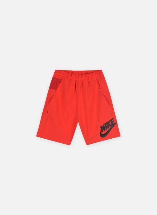 Vêtements Nike B Nsw Woven Hbr Short Rouge vue détail/paire