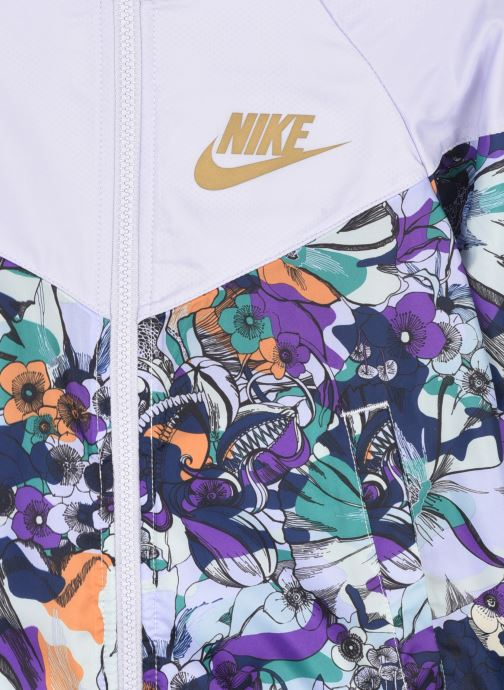 Vêtements Nike G Nsw Wr Aop Jkt Energy Multicolore vue face