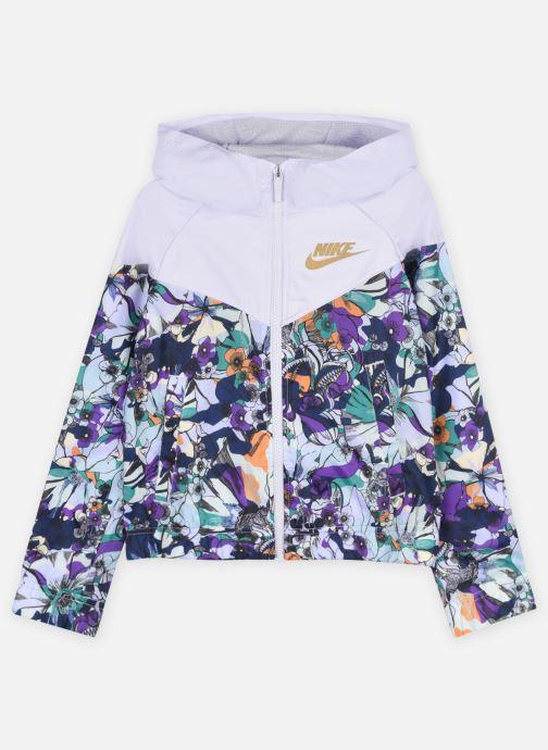 Vêtements Nike G Nsw Wr Aop Jkt Energy Multicolore vue détail/paire