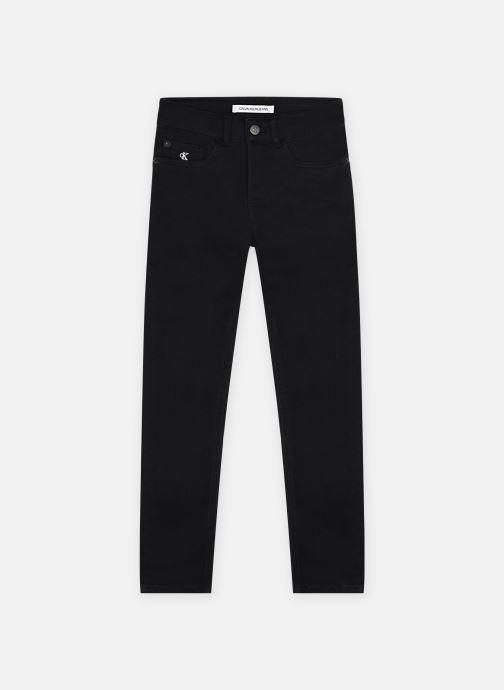 Kleding Calvin Klein Skinny Cl Blk Str Zwart detail