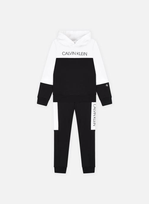 Kleding Calvin Klein Clr Block Hoodie Sweat Zwart detail