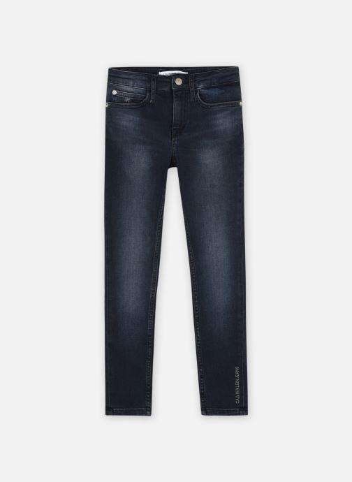 Kleding Calvin Klein Skinny Hr Blue Black Blauw detail