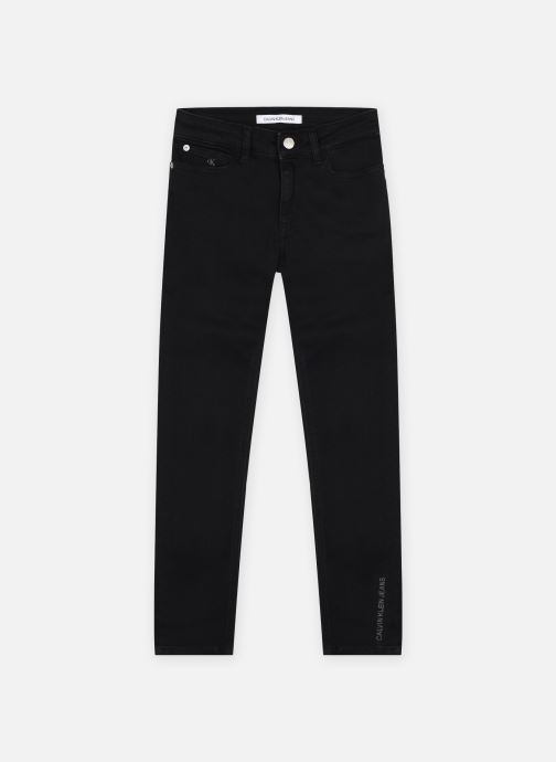 Kleding Calvin Klein Mr Skinny Clean Blac Zwart detail