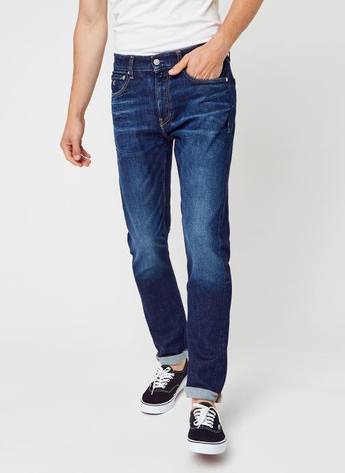 Kleding Calvin Klein Jeans Slim Taper Blauw detail
