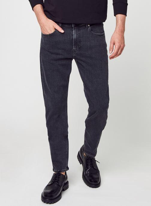 Kleding Calvin Klein Jeans Slim Taper Zwart detail