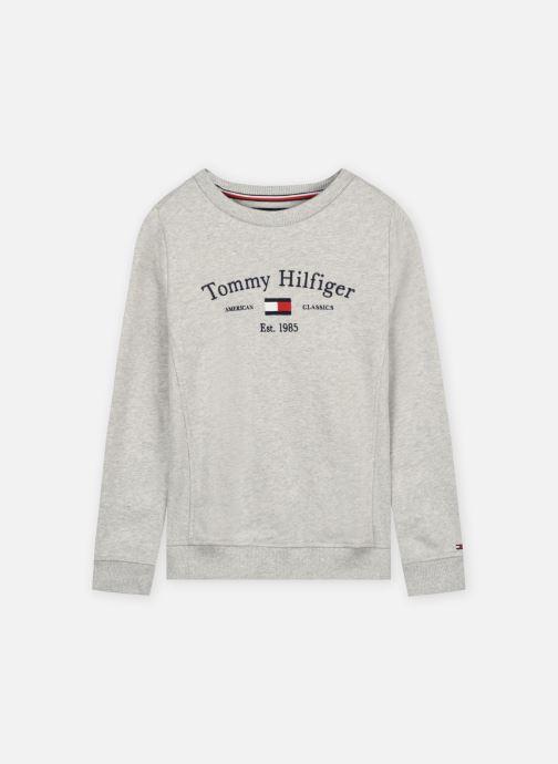 Vêtements Tommy Hilfiger Th Artwork Cn Sweats Gris vue détail/paire
