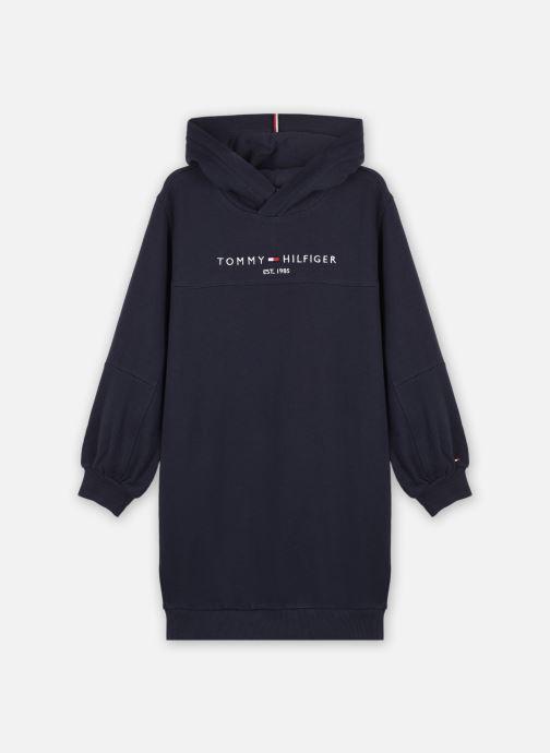 Vêtements Tommy Hilfiger Essential Hoodie Dre Bleu vue détail/paire