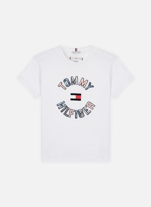 Vêtements Tommy Hilfiger Sequins Tee S/S Blanc vue détail/paire