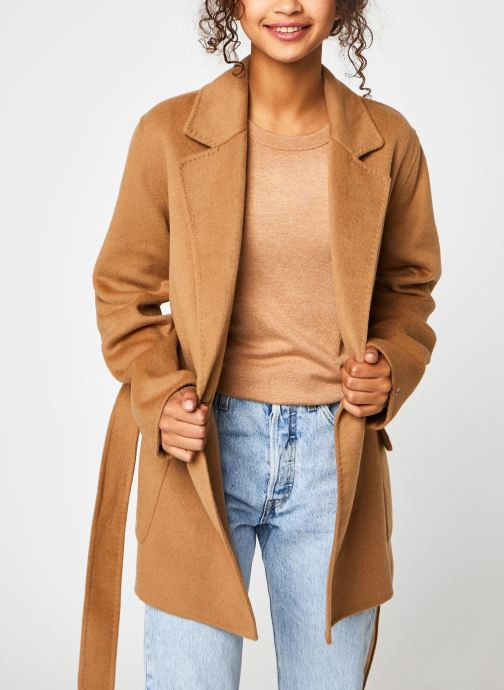 Ropa Accesorios Wool Blend Df Hip Lenght Coat
