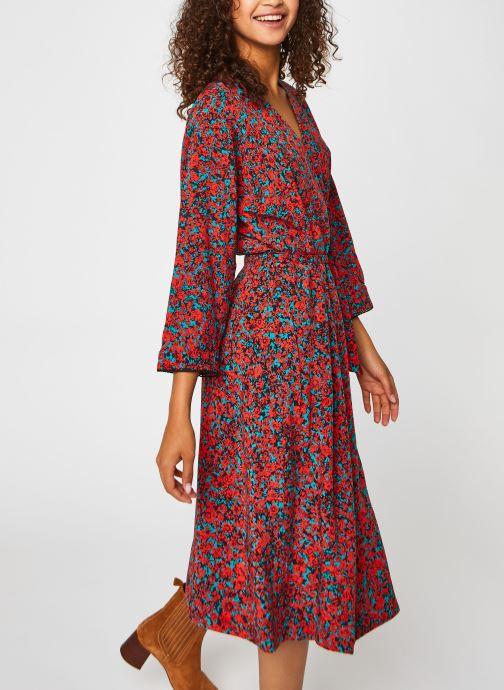 Ropa Accesorios Vis Wrap Knee Dress