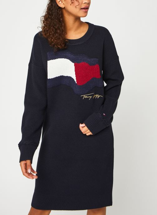 Ropa Accesorios Motion Flag C-Nk Knee Dress LS