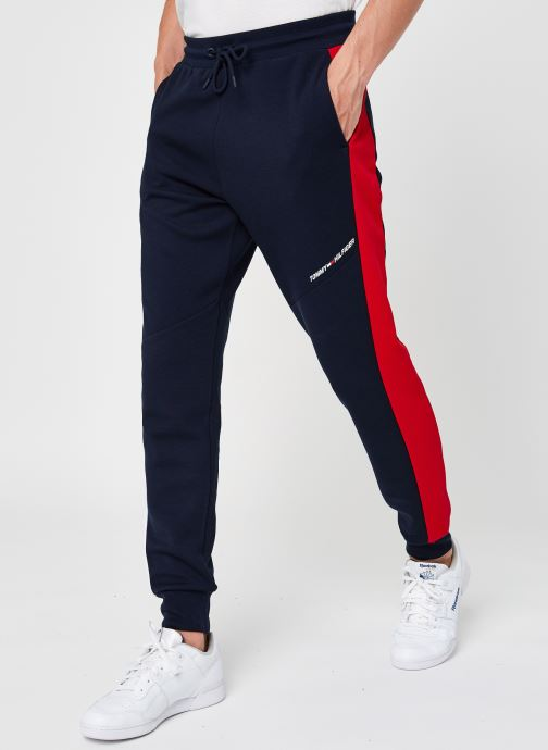 Blocked Terry Pant
