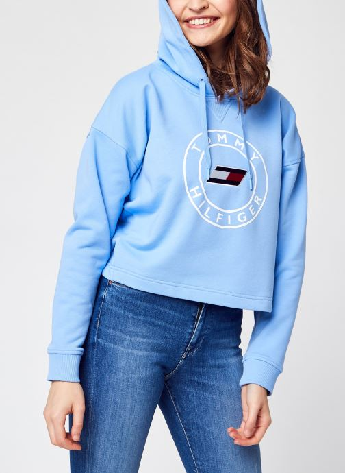Ropa Accesorios Relaxed Round Graphic Hoodie Ls