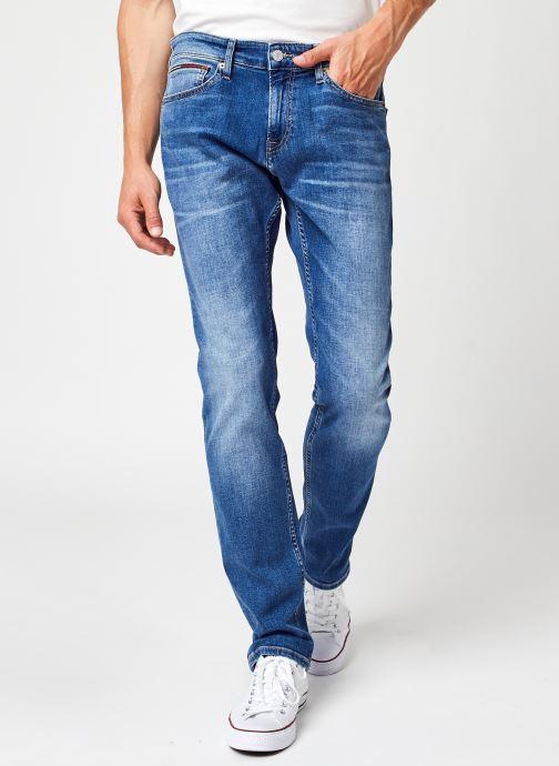 Kleding Tommy Jeans Scanton Slim Ae136 Mbs Blauw detail