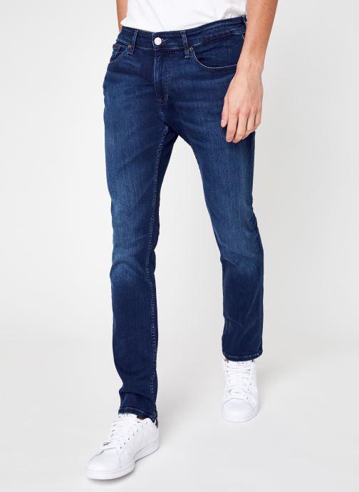 Vêtements Tommy Jeans Scanton Slim Ae167 Bbks Bleu vue détail/paire