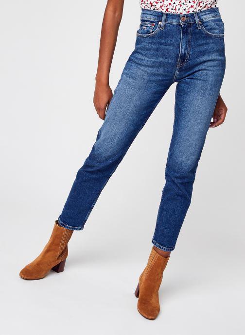 Vêtements Tommy Jeans Izzie Hr Slim Ankle Bleu vue détail/paire