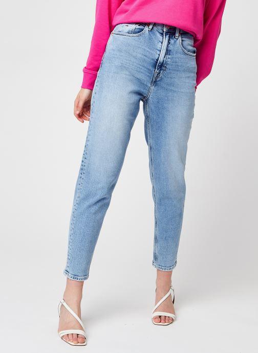 Vêtements Tommy Jeans Mom Jean Uhr Tpr AE611 Lbc Bleu vue détail/paire