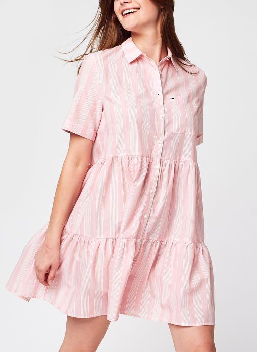 Ropa Accesorios Tjw Stripe Tiered Shirt Dress