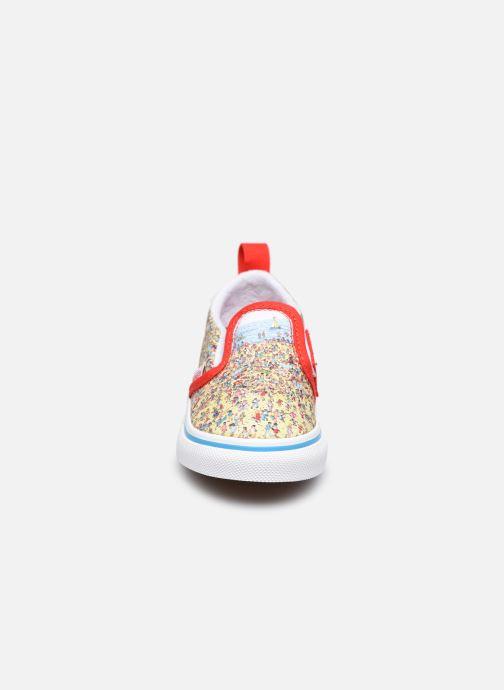 Sneaker Vans Td Slip-On V mehrfarbig schuhe getragen