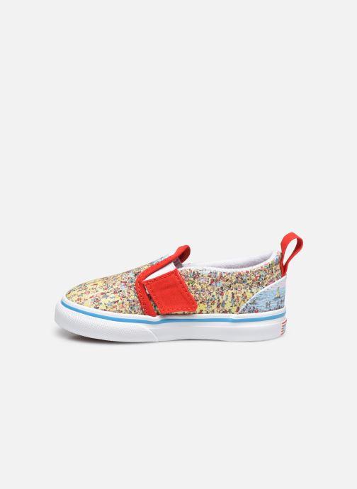 Sneaker Vans Td Slip-On V mehrfarbig ansicht von vorne