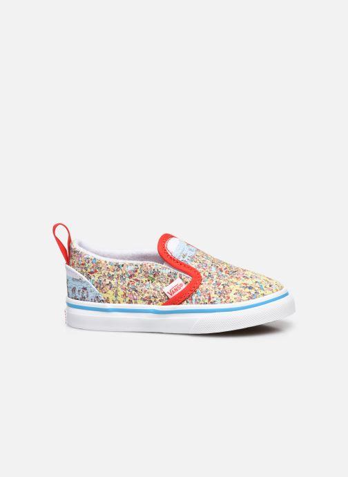 Sneaker Vans Td Slip-On V mehrfarbig ansicht von hinten