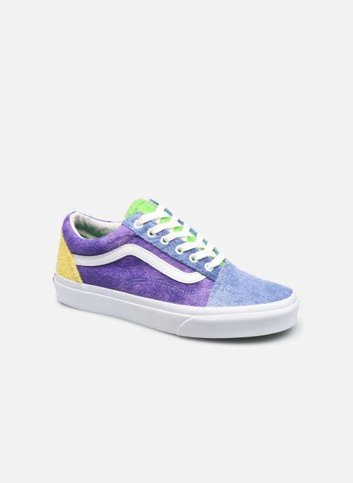Sneaker Vans Ua Old Skool W blau detaillierte ansicht/modell
